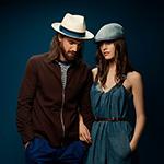 Шляпа BAILEY арт. 22783BH HALPERN (бежевый / красный)